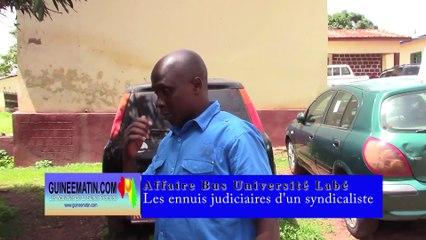 Affaire Bus de l'Université Hafia : des ennuis judiciaires pour le syndicaliste Fodé Camara