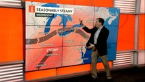 Steamy weather returns to the east, tropical trouble brew in the Gulf