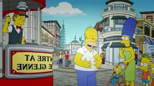 The Simpsons Season 23 Episode 11 The DOh-cial Network