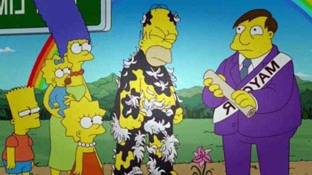 The Simpsons Season 23 Episode 14 At Long Last Leave