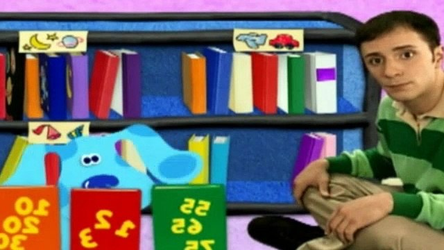 Blues Clues Season 4 Episode 15 - Blue's Book Nook