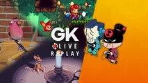 [GK Live Replay] Pipo et Luma jouent les amis des animaux avec SkateBIRD, Small Saga et Eagle Island
