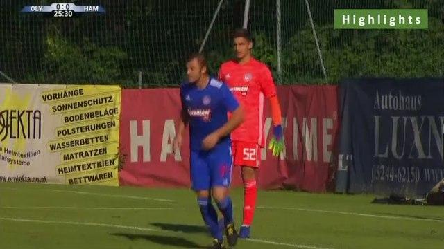 16 year-old Konstantinos Tzolakis AMAZING Penalty Save - Olympiakos Piraeus vs Hamburger SV - 10.07.2019 [HD]
