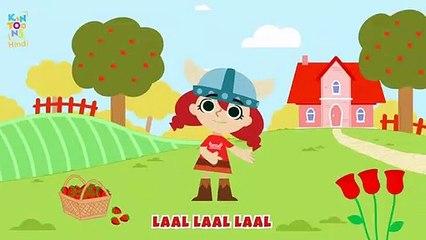 Rang Ke Gaane - Color Song | Hindi Nursery Rhymes And Kids Songs | KinToons Hindi