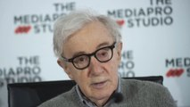Woody Allen thinks he'll probably die on a film set