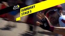 Summary - Stage 5 - Tour de France 2019