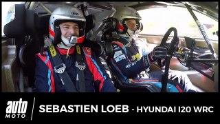 Embarqué avec Sébastien Loeb en Hyundai i20 WRC