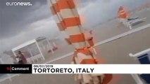 Italie : des tornades et de violents orages secouent le nord du pays