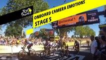 Onboard camera Emotions - Étape 5 / Stage 5 - Tour de France 2019