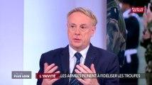 Fidélisation des militaires : « Nous avons fait de gros efforts » estime le général Jérôme Pellistrandi