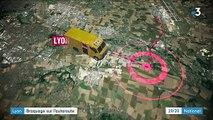 Lyon : braquage sur l'autoroute