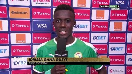 [SOIR DE CAN] Interview d'Idrissa Gueye - Qualification du Sénégal en 1/2
