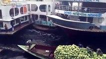 Le port le plus dangereux du monde... Surtout pour les barques