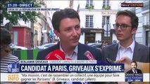 """Benjamin Griveaux: """"Le prochain maire de Paris doit être le maire de tous les Parisiens, pas le maire d'un clan"""""""