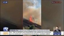 """""""Ce serait un incendie accidentel"""", explique la directrice de cabinet du préfet des Bouches-du-Rhône"""