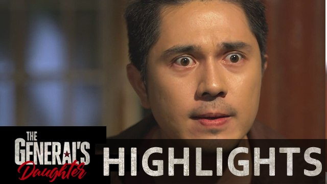 Franco gets shocked on the news about Rhian | The General's Daughter