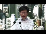 Hong Kong leader: Divisive extradition law will be 'suspended'
