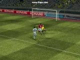 Ibrahimovic dans ces oeuvres PES 2008