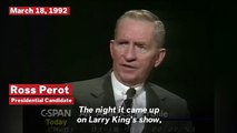 Ross Perot On Presidential Runs