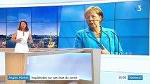 Allemagne : Angela Merkel victime de nouveaux tremblements