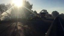 Incendies entre Vitrolles et Rognac : les feux seraient dus aux étincelles du train
