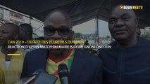 CAN 2019 : réaction du maire Isidore Gnonlonfoun après la défaite des Ecureuils