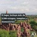 Bagan, la antigua ciudad considerada Patrimonio de la Humanidad por la Unesco