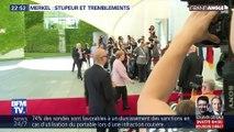 Angela Merkel, stupeur et tremblements