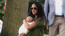 Meghan Markle Gives Archie Sweet Kiss on Forehead