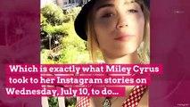 Miley Cyrus Flaunts Her Killer Figure in Black Bikini: 'Selfie-ish'