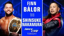WWE SmackDown LIVE: Finn Bálor vs. Shinsuke Nakamura | Español Latino HD