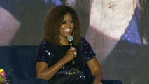 Michelle Obama on raising a family in the White House