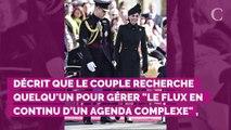 Kate Middleton et le prince William recherchent une personne p...