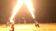 Amazing Fire Dancers in Koh Chang Thailand