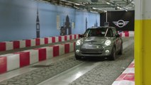 Production of the MINI Electric at MINI Plant Oxford Test track