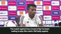 (Subtitled) 'The match against Ivory Coast is big' - Algeria midfielder Boudaoui