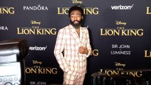 """Donald Glover """"The Lion King' World Premiere Red Carpet"""
