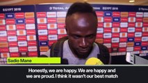 (Subtitled) Sadio Mane on emotions of reaching AFCON semi-final