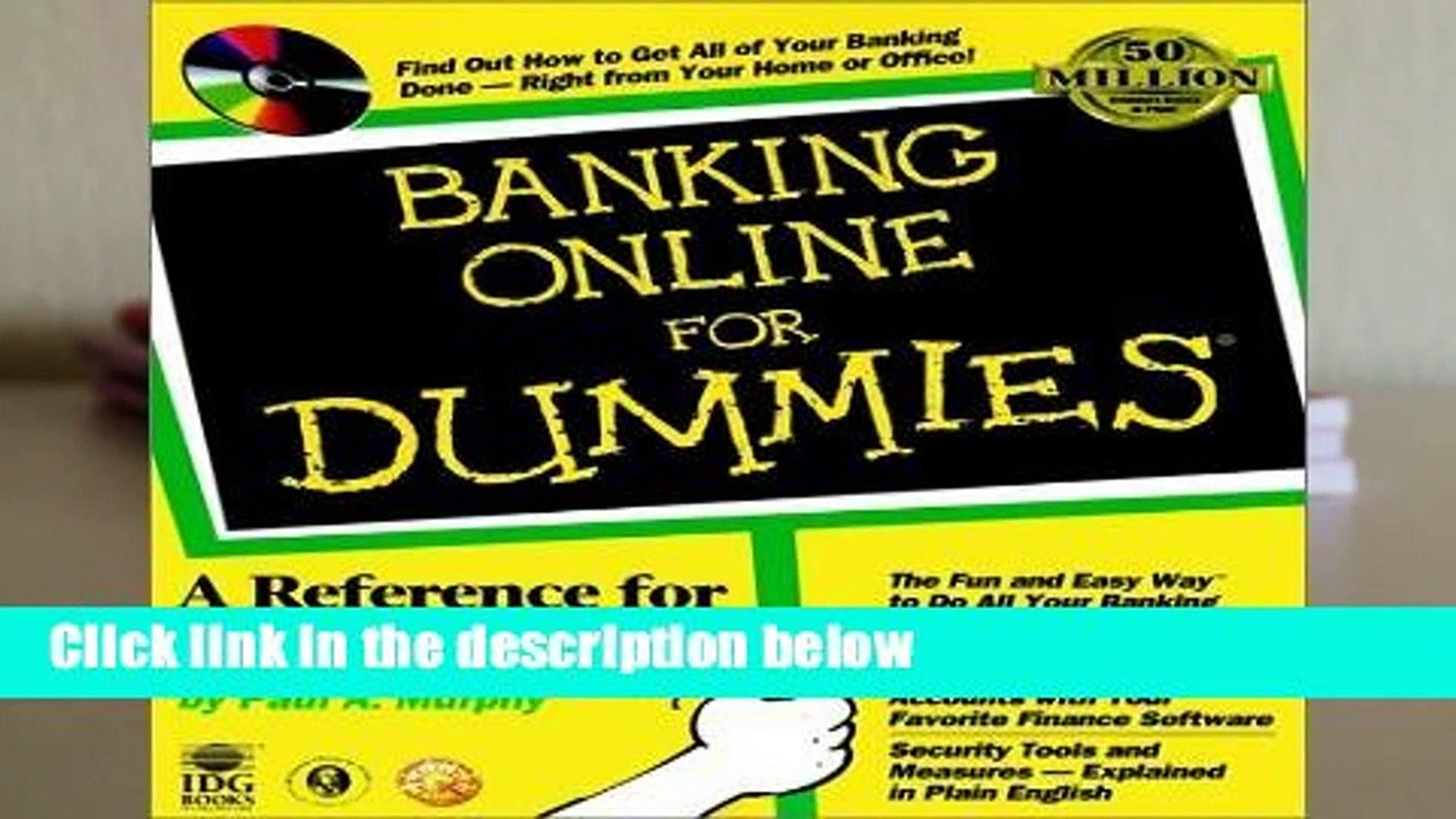 Complete acces  Banking Online For Dummies by Paul A. Murphy