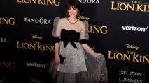 "Zooey Deschanel ""The Lion King' World Premiere Red Carpet"