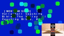 [MOST WISHED]  The Volleyball Coaching Bible (The Volleyball Coaching Bible, #1)