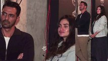 Arjun Rampal enjoys music launch event with pregnant GF Gabriella; Watch video | FilmiBeat