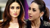 Karisma Kapoor shocking revelation on her sister Kareena Kapoor Khan  FilmiBeat
