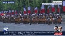 Les images des répétitions du défilé du 14 juillet sur les Champs-Élysées