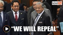 Dr Mahathir: Gov't will repeal the Sedition Act