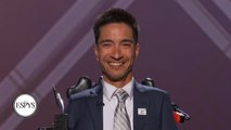 Jimmy V Award recipient Rob Mendez has never accepted failure as the end of his story _ 2019 ESPYS