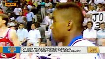 What's with the Knicks not shaking hands after a summer league game _ The Jump