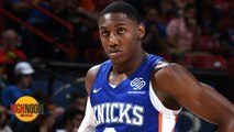 RJ Barrett's start at Summer League not encouraging for Knicks - Bomani Jones _ High Noon