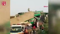 Pakistan'da iki tren çarpıştı 11 ölü, 67 yaralı