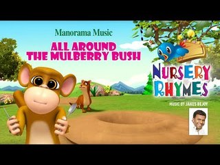 All Around The Mulberry Bush | Animation Video | Nursery Rhymes